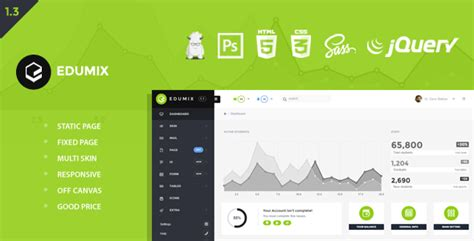 themeforest zurb foundation edumix foundation zurb admin dashboard by matirasa