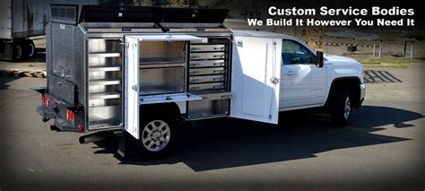 truck utility bed custom service body highway products inc