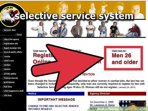 how to register a service how to register for selective service 9 steps with pictures