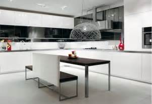 black and kitchen ideas 30 black and white kitchen design ideas digsdigs