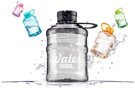 Botol Minum Mini Galon 450ml botol air minum galon mini lebih hemat dan bebaskan bumi dari limbah plastik harga jual