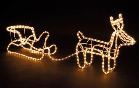 outdoor light up reindeer sleigh large christmas reindeer sleigh light up outdoor garden
