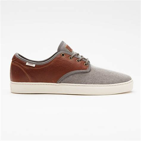 vans boat shoes on feet military ludlow bungee gray shoes pinterest