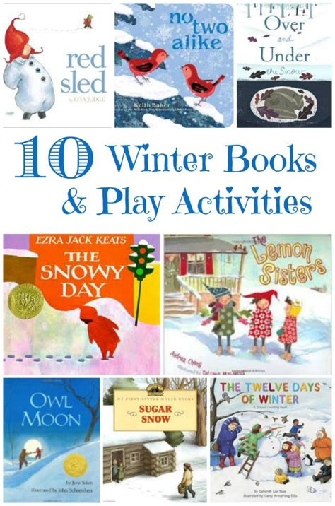 winter books with books and winter activities edventures