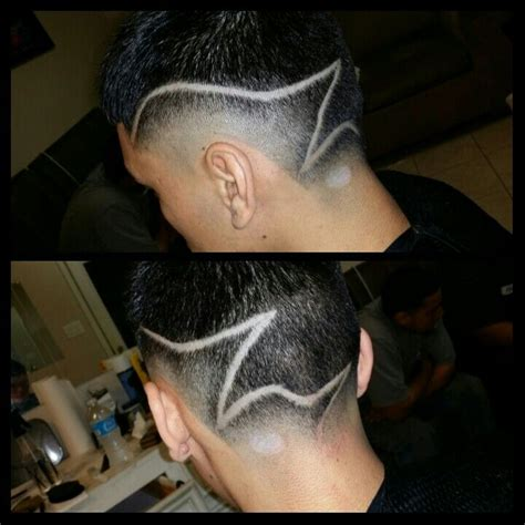 haircut designs 3 lines mens modern haircut with design ignacios fresh cutz