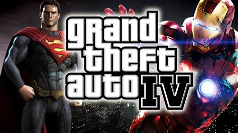 Gendongan Motif Superman Ironman 9 gta 4 superman vs ironman vs mod