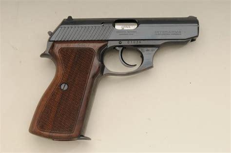 Supersale Hermes Semi Premium 1 mauser model hsc da semi auto pistol 380 cal 3 1 2 barrel blue finish checkered wood