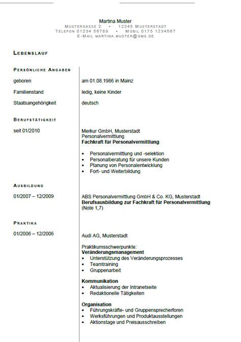 Anschreiben Personalvermittlung Bewerbung Fachkraft F 252 R Personalvermittlung Berufseinsteiger Sofort
