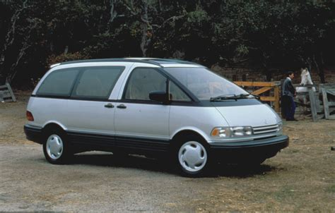 1991 Toyota Previa 1991 Toyota Previa The News Wheel