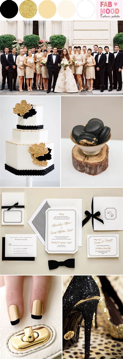 wedding themes gold and black black white gold wedding colors black white gold wedding ideas