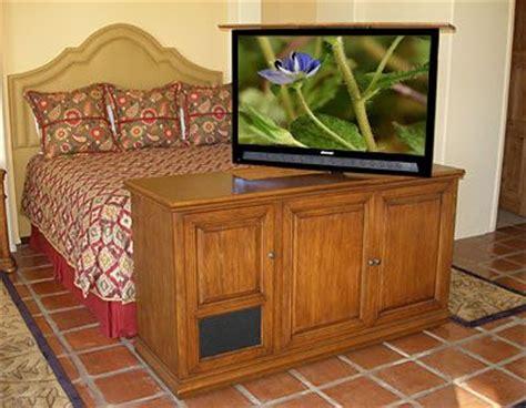 bed  hidden tv tv lift cabinets furniture