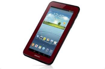 Samsung Galaxy Tab 2 Warna Merah samsung rilis edisi khusus galaxy tab 2 versi 7 inci warna merah kabar berita artikel