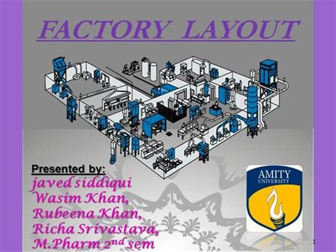 Tablet Mfg Layout Ppt Presentation | tablet factory layout authorstream