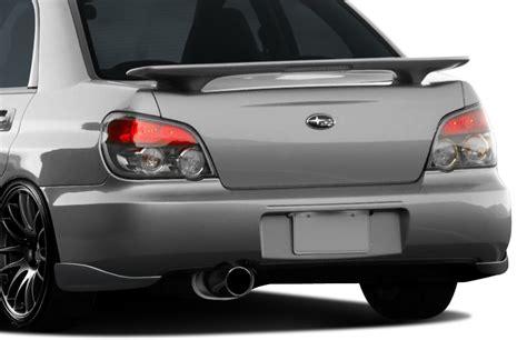 2004 subaru wrx spoiler fits 04 07 impreza wrx sti 4dr duraflex c speed 2 rear add