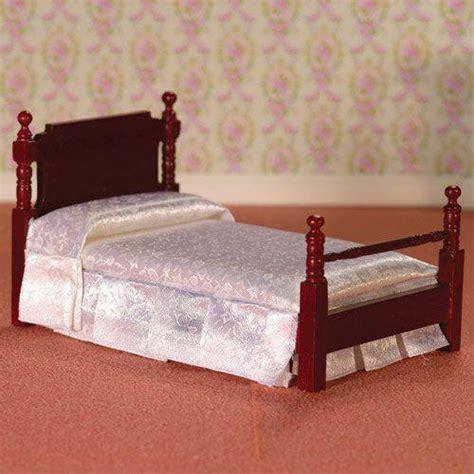 mahogany bed the dolls house emporium victorian mahogany single bed