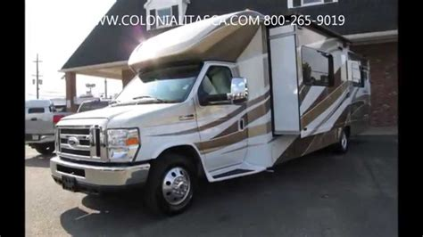 ford motorhome 2014 itasca cambria 30j ford motorhome rv for sale youtube