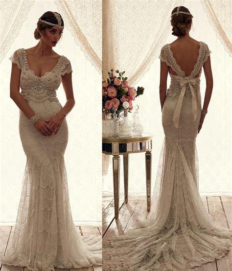 anna cbell inspired beach wedding dresses sleeves 2015 vintage wedding dress boho beach 2016 anna cbell wedding gowns