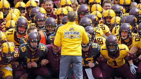 row the boat mn gophers gophers entertain at annual spring game university of