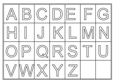 printable alphabet worksheets worksheets on letters for preschoolers printable