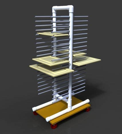 Painting Drying Rack by Plans To Make A Cabinet Door Drying Rack Search Organization Ideas