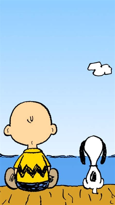 snoopy charlie brown peanuts comic strip wallpaper