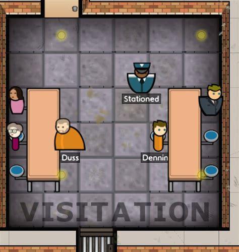 Prison Architect Staff Room by Visitation Prison Architect Wiki