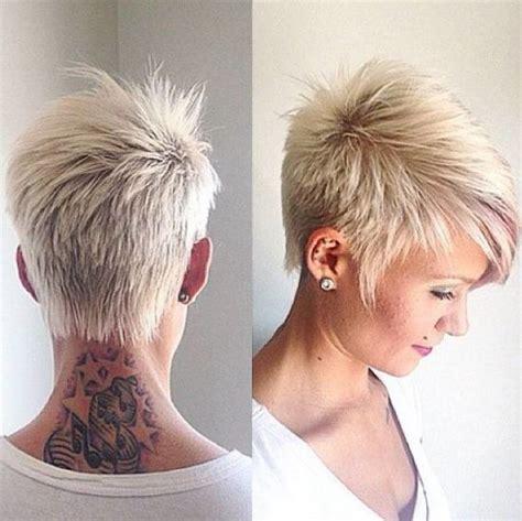grey funky hair funky short hairstyles for grey hair jpg 540 215 539
