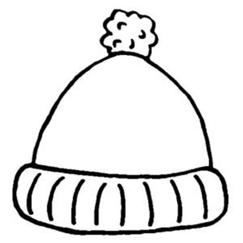 stocking hat coloring page coats coloring and sun on pinterest