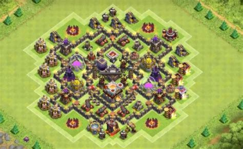 coc layout anti dragon th7 11 anti dragon farm and war base designs that work th7 to th10