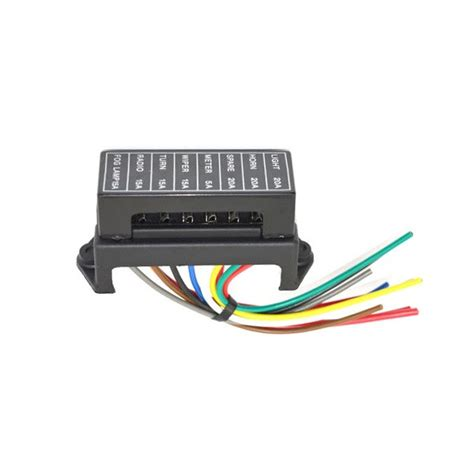 Jz5703 Jiazhan Car 8 Way Fuse Box 8 Road With Wire