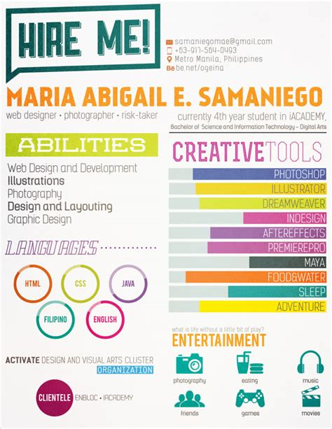 10 Interesting Simple Resume Exles You Would To Notice 10 Interesting Simple Resume Exles You Would To Notice Portfolio Design Simple