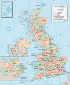 England On A Map by Gallery For Gt Scotland And England Map