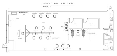 small beauty salon floor plans sle floorplan beauty salon plan elevation