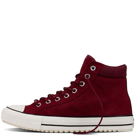 converse boat converse chuck taylor all star converse boot pc red