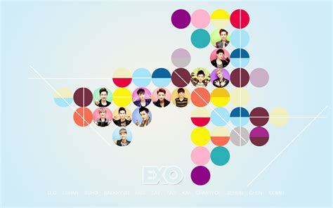 2013 2014 Computer Desk exo desktop wallpaper wallpapersafari