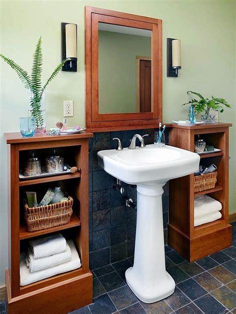 pedestal sink storage ideas best 25 pedestal sink ideas on pedestal sink