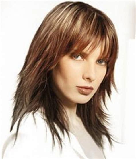 textured layered shag hairstyles shaggy long layered hairstyles