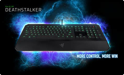 Keyboard Razer Deathstalker Ultimate T1 razer deathstalker gaming keyboard fully programmable