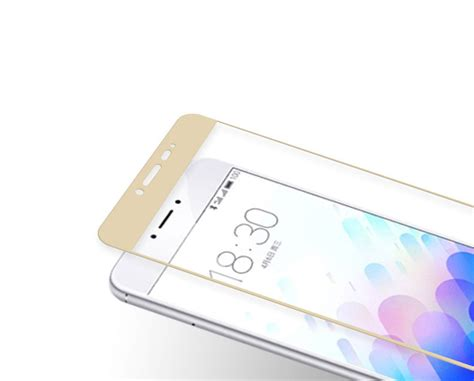 Meizu M3s Cover Tempered Glass Screen Protector Anti Gores Kaca meizu m3 m3s colorful tempered glass screen protection
