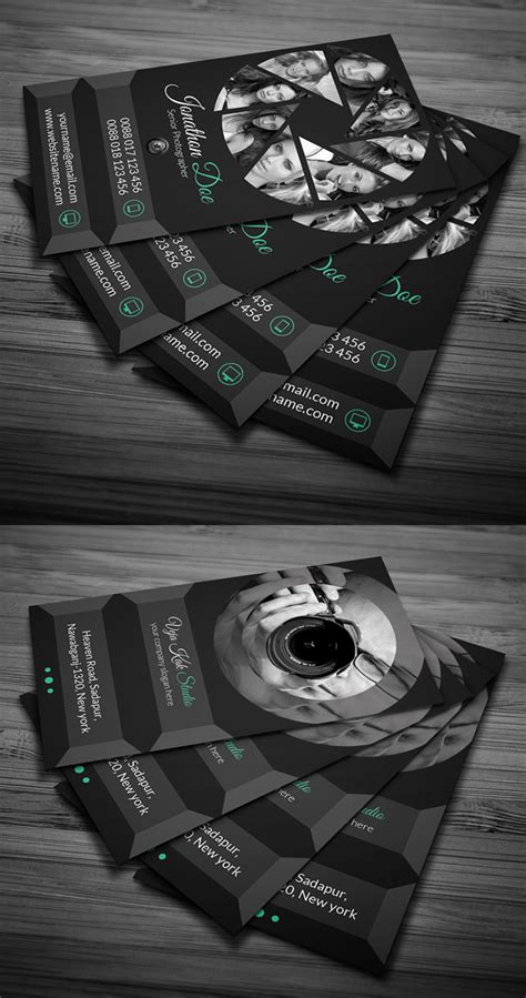 Photography Business Card Design Templates by Photography Business Card Templates Design Graphic