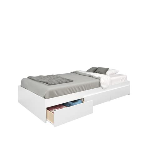twin size storage bed nexera blvd twin size 3 drawer storage bed from nexera
