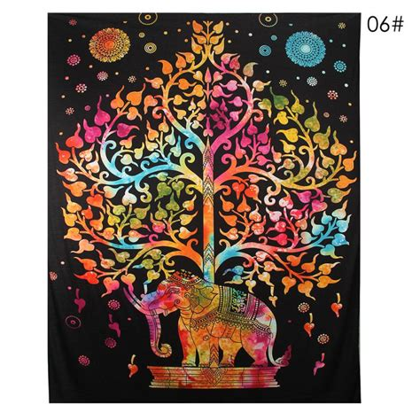 hippie home decor uk indian elephant decor mandala tapestry bedspread wall