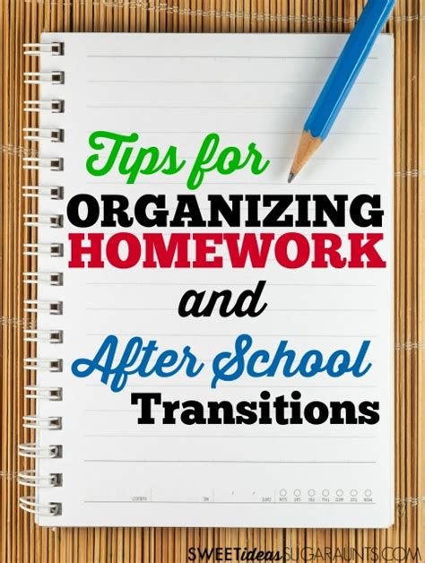 homework organization and planning skills how to help disorgnaized kids organize their homework