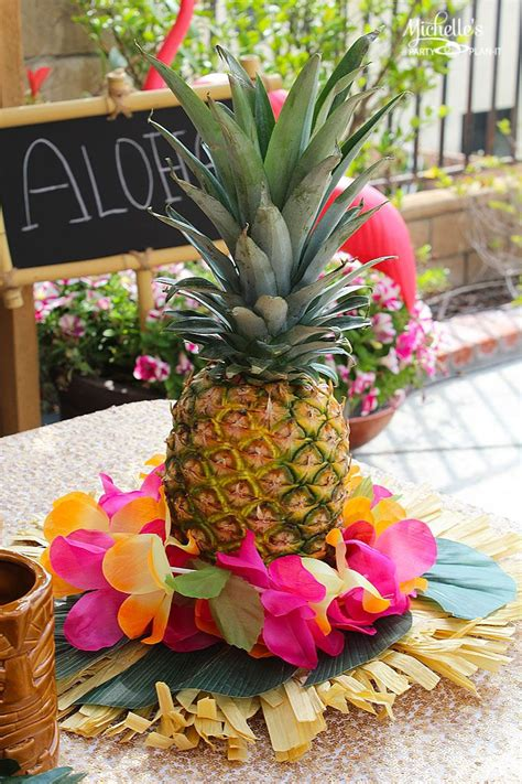 25 best ideas about pineapple centerpiece on pinterest