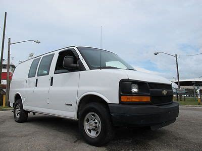 how it works cars 2003 chevrolet express 2500 user handbook buy used 2003 chevrolet express 2500 cargo van work van box van commercial low reserve no in