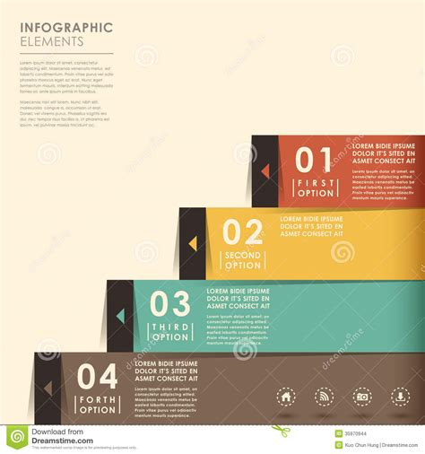 banners flat design elements vector 18 abstract banner infographics stock images image 35970944