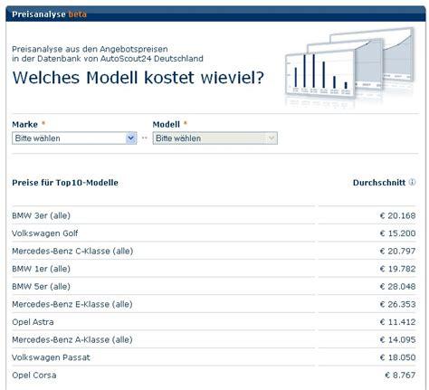 Autoscout Bewertung by Kfz Bewertung Kostenlos Tool Auf Autoscout24