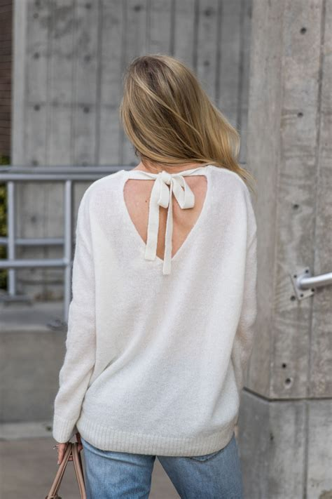Transition Wear Cardigan by Transition Tie Back Sweater Boyfriend