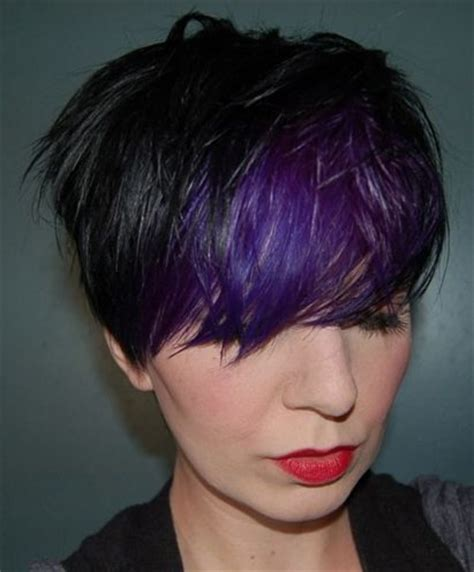 purple and black hairstyles trend alert black and purple hair would you