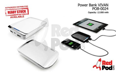 Power Bank Vivan Power Wing pin by redpod gifts on powerbank